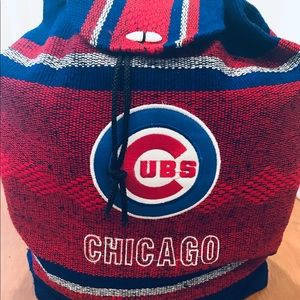 Handbags - Chicago Cubs woven backpack 🎒 NEW!
